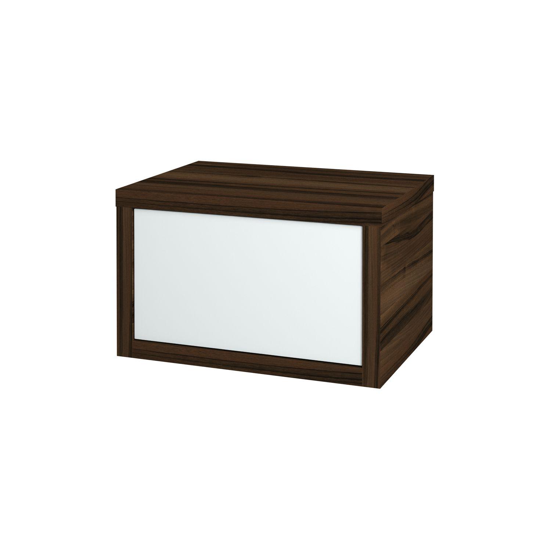 Dřevojas - Koupelnová přídavná skříň STORM 60 ZZ - D06 Ořech (72561)