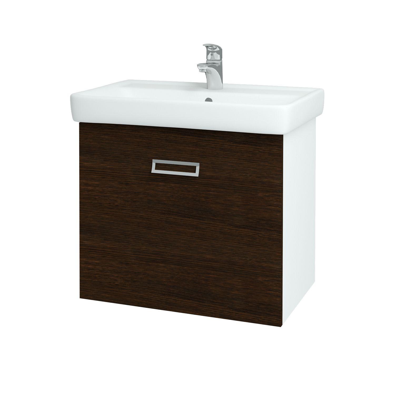 Dřevojas - Koupelnová skříňka Q MONO 700 - D08 Wenge (60575)