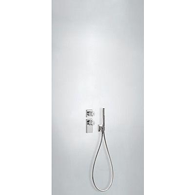 TRES - Termostatická baterie podomítková BLOCK SYSTEM s uzávěrem a regulací průtoku (1-cestné)· (20635191)