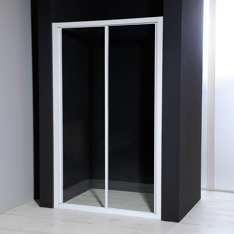 AQUALINE - AURELIA Sprchové dveře posuvné, čiré sklo, 1100 mm (F110)